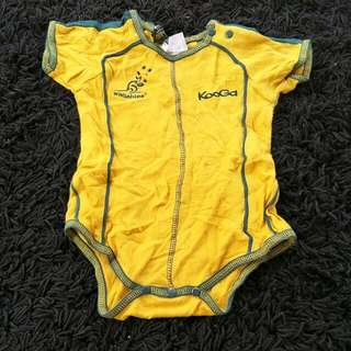 Romper Wallabies Kooga Rugby Gear