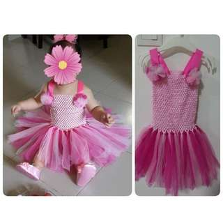 Preloved Bundle Tutu Dress and Tutu Skirt