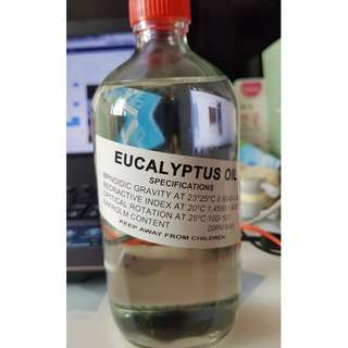 Eucalyptus Oil 480ml Concentrated