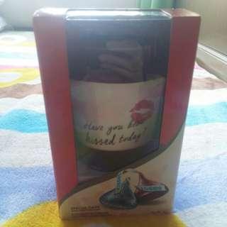 Hershey's Kisses 好時好時之吻咖啡杯禮盒