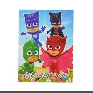 Instocks PJ Masks Coloring Book