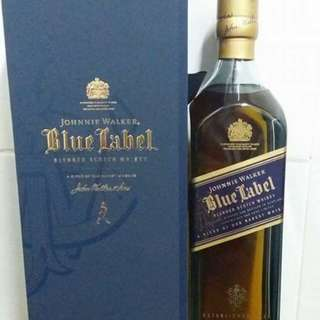 Johnnie Walker Blue label 藍牌