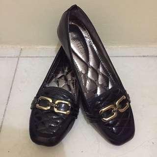 Peter Keiza flatshoes black
