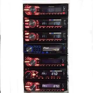 Pioneer single din radio player with installation. Car Radio And Audio System