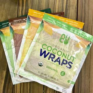 NUCO coconut wraps