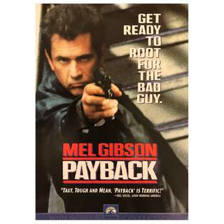 DVD - PAYBACK (ORIGINAL USA IMPORT CODE 1)