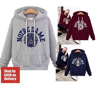 Long sleeves with hoodie pullover