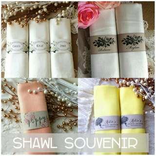 Shawl Wedding Souvenir
