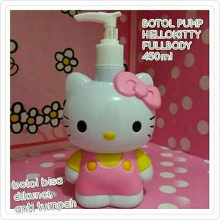 Botol pump hellokitty full body 450mL