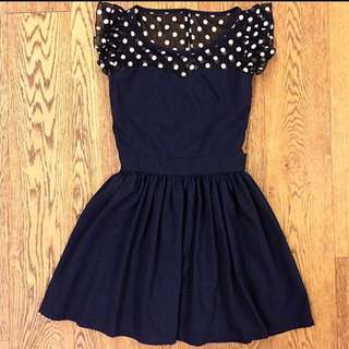 Korea Navy spot dress