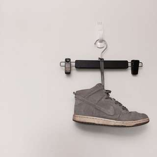 🚚 🖤 Nike Dunk 全灰麂皮正品運動休閒鞋 不整理出清 #大掃除五折