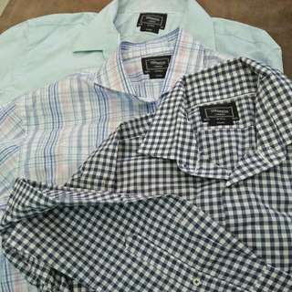 T.M Lewin Long Sleeve Shirt (New)