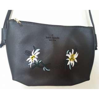 Kate Spade Sling Bag Black