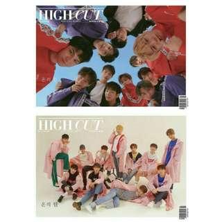 Wanna One High Cut Magazine Vol.216