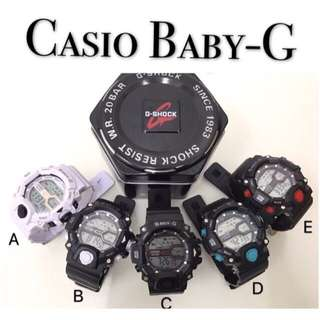 Casio baby G with metal box (preorder)