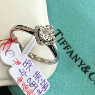 Tiffany and Co 18Ct Diamond Ring