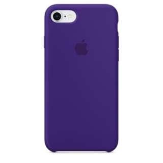 iPhone 8 / 7 防撞矽膠護殼 - 深紫色