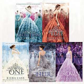 eBook - The Selection Series by Kiera Cass (5 Books)