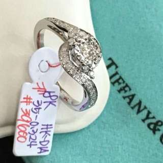 18Ct Tiffany and Co Diamond Ring