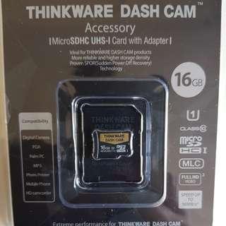 Thinkware Dash Cam Accesory MicroSDHC UHS-I 16GB