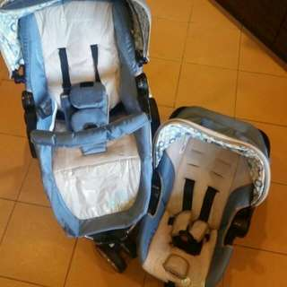 3 in 1 baby carrier, car seat and stroller