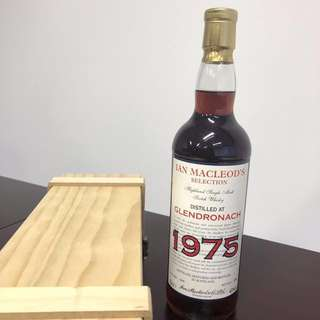 罕有限量 34年Glendronach 1975 Ian Macleod's Whisky bottled in Scotland 蘇格蘭威士忌