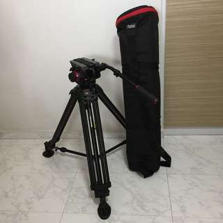 Manfrotto 504HD Head w/546B Tripod
