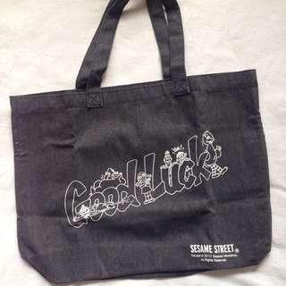 Sesame street limited design tote bag