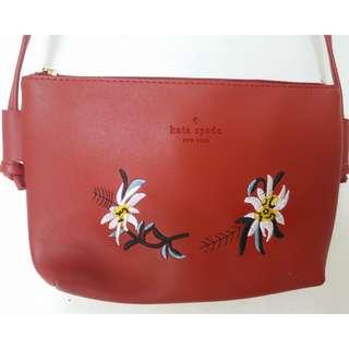 Kate Spade Sling Bag Red