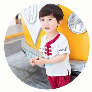 Chinese New Year Boys Traditional Clothing (Modern Design 2)