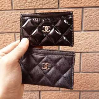 Chanel design card holder