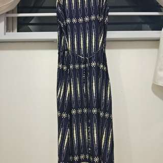 Long Dress (Navy blue)