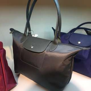 Original Longchamp Neo (small with long handle)