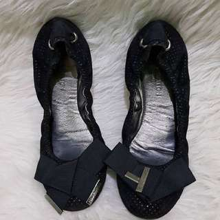 Louis vuitton black ballerina