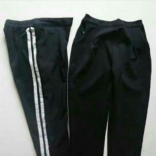 (New) Zara strip pants