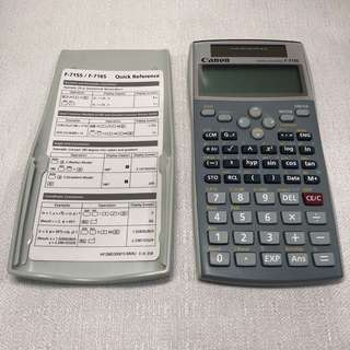 Scientific Calculator Canon F-715S