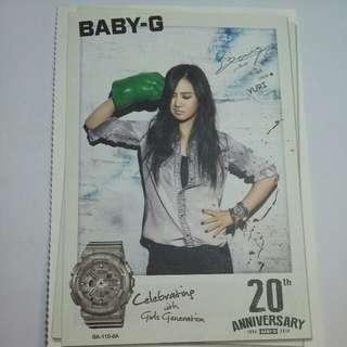 Yuri baby g postcard