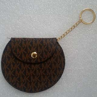 MK Coin Purse Brown