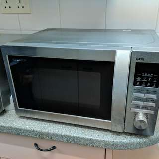 MOVING SALE - MICROWAVE GRILL SHARP R-630A(ST)