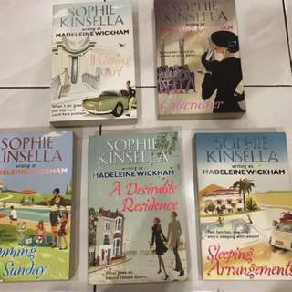 Assorted Sophie Kinsella Books