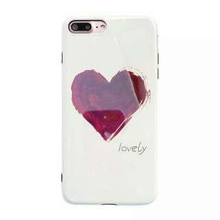 Lovely 鏡面玻璃iPhone case