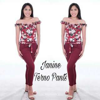New arrival Terno pants