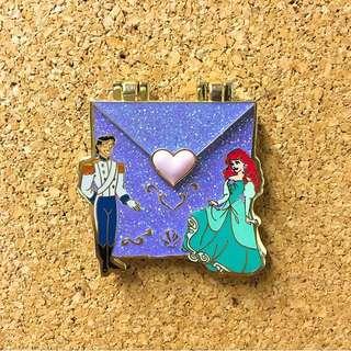 Ariel Love Letter pin