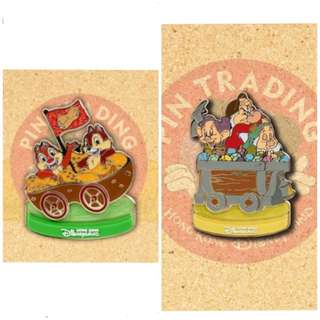徵 Carousel 迪士尼徽章 襟章 Disney pin