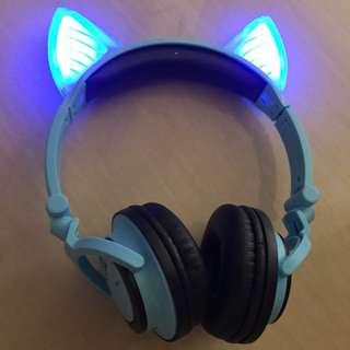 藍牙貓耳耳機