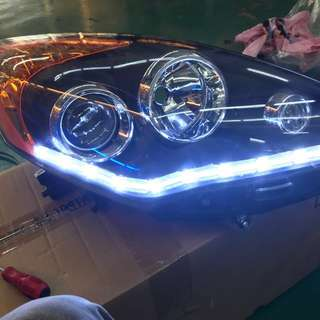 Alza HeadLamp +Crystal Light & Runing Singal