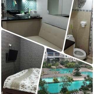 disewakan apartemen green bay 2bR full furnished tower F