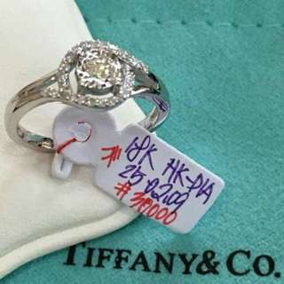 18ct Tiffany & Co Diamond Ring