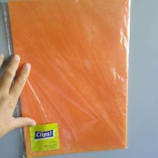 L Folder ( 12 pieces at $10/=)