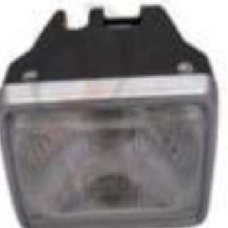 Square Head Front Lamp with Bulb AX120